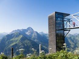 Panoramaaufzug nebem dem Widderstein