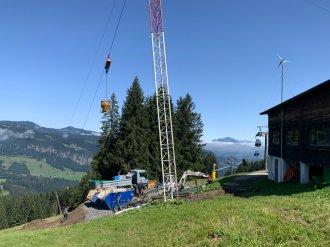 Abbruch Schrattenwanglift 2019