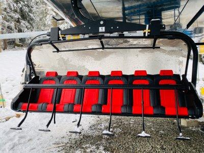 Schrattenwangbahn - erster Sessel