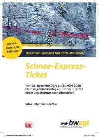 Schnee-Express-Ticket 2019-20