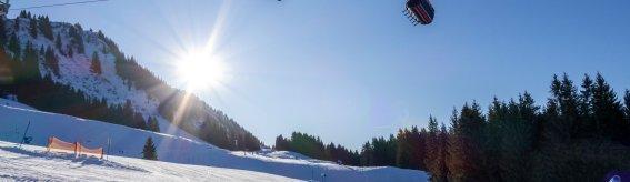 Schrattenwangbahn in der Sonne