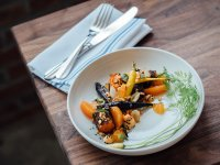 Karotten Teller