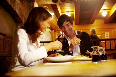 Abendessen in einmaliger Atmosphäre