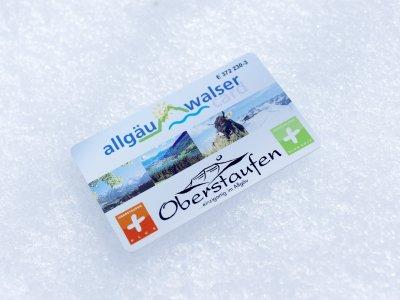 Die Allgäu Walser Card ist eine kleine Wunderkarte