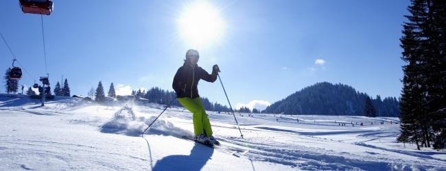 In Oberstaufen fühlen sich alle Wintersportler pudelwohl