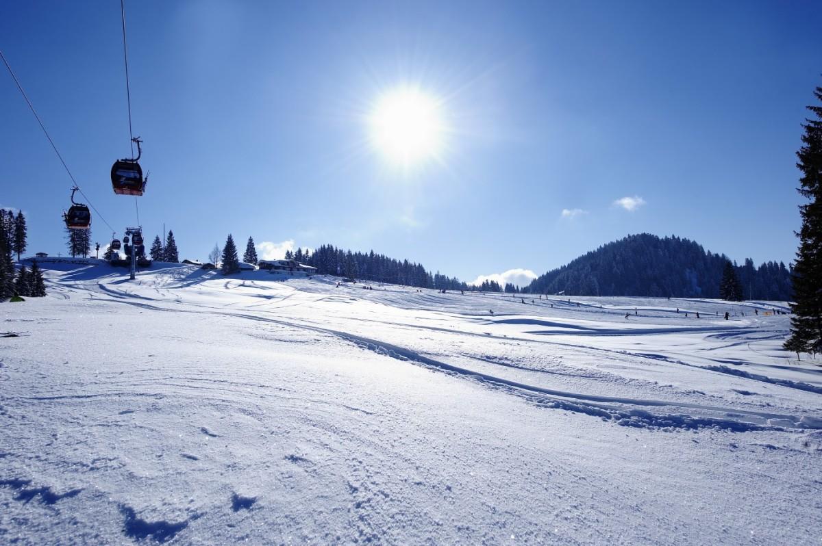 Imbergbahn im Winter