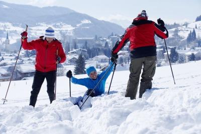 Schneeschuhwandern im Allgäu tut Körper und Seele gut.