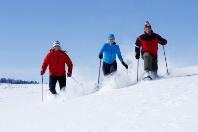 Tour mit Schneeschuhen