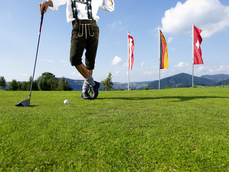 Golfurlaub in oberstaufen golfen golfpl tze im allg u for Oberstaufen golf