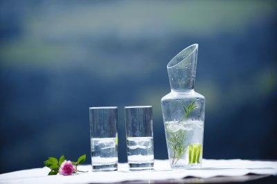 Heilendes Kräuterwasser
