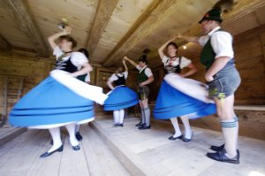 Traditionelles Tanzen