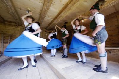 Traditionelles Tanzen