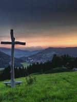 Sonnenuntergang Berglandschaft