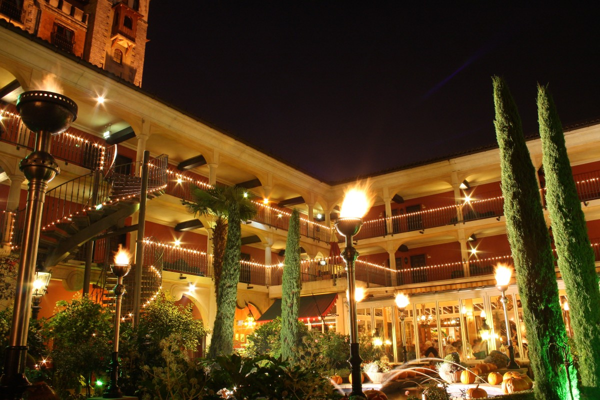 Das Hotel EL Andaluz - unsere Herberge