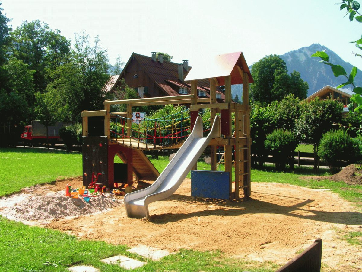 Spielparadies in Franks Garten