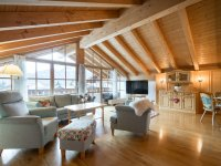 Panorama Suite / Suite Deluxe Wohnbereich