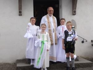 Erstkommunion in Schöllang