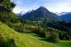 Weg in Oberstdorf