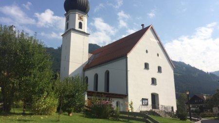 Pfarrkirche Schöllang neu