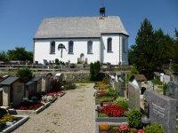 Burgkirche mit Friedhof neu