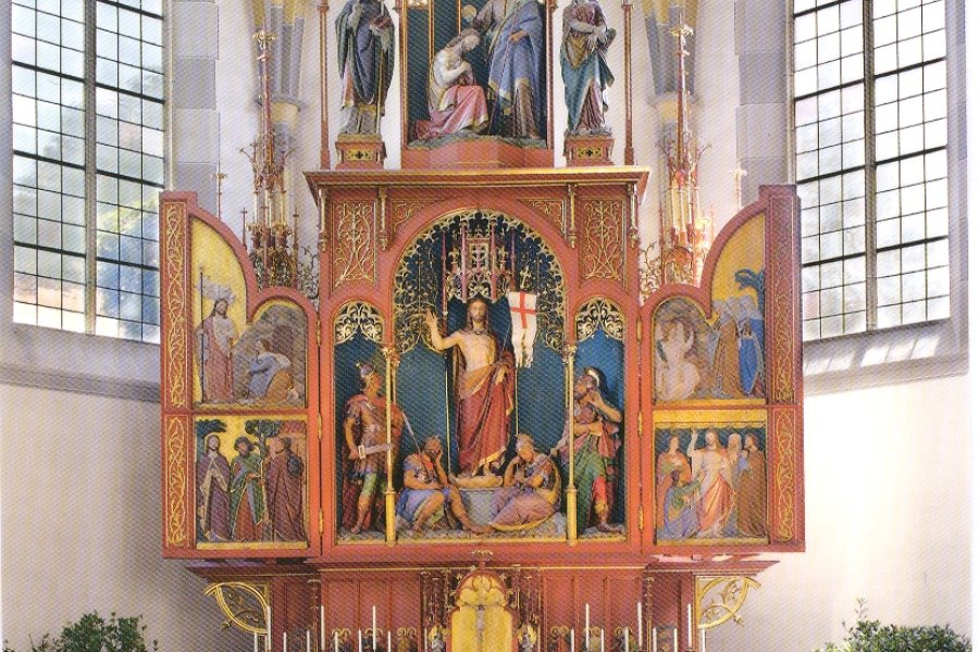 Pfarrkirche Hochaltar