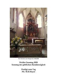 Predigt am Weißen Sonntag