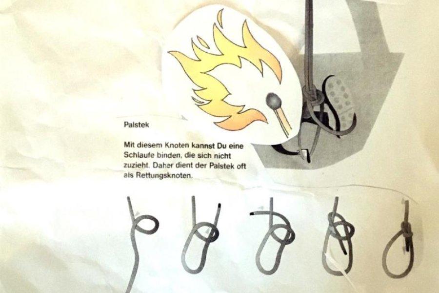 Knoten, die halten