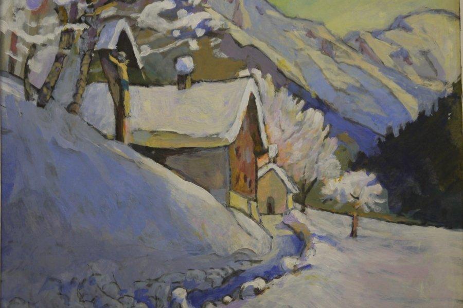 Winterbild in Gerstruben von Christoph Schneider