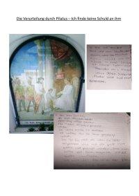 3. Station: Die Verurteilung durch Pilatus