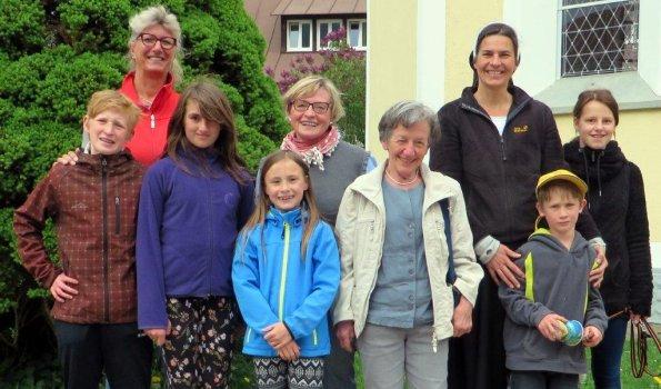 Spendenübergabe Kalzhofen