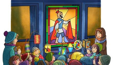 St-martinsfenster-kinder