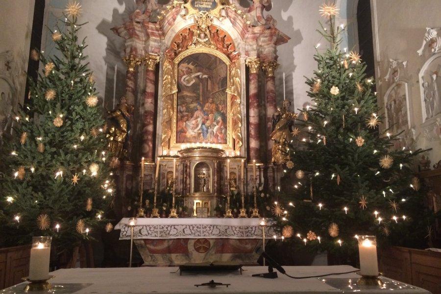 Weihnachtsaltar Schöllang