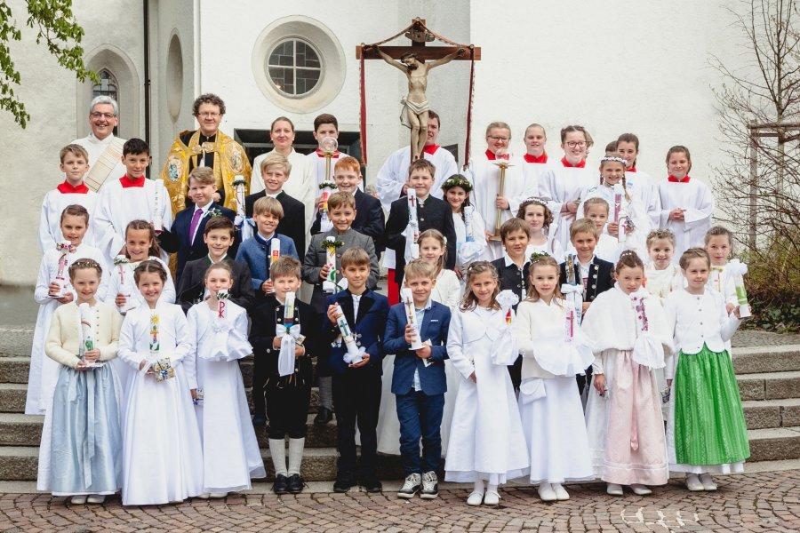Erstkommunion in Oberstdorf