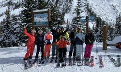 Gruppe am Glacier Whistler 2020