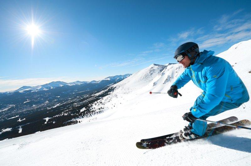 Vail - Piste und Berge Colorados
