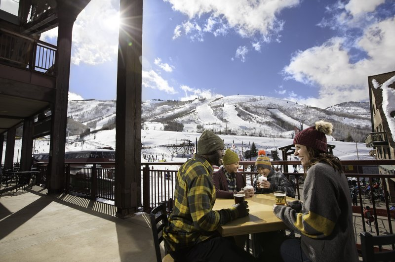 Park City - Sonnige Mittagspause