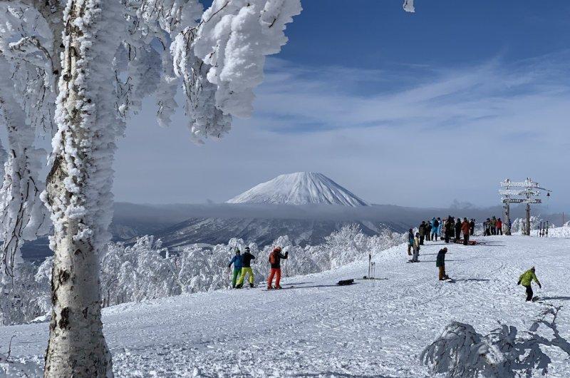 Japan Rusutsu - Blick auf Yotei
