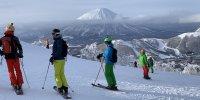 Japan Rusutsu - Vulkan mit Piste