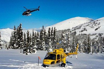 Ripley Creek - zwei Helikopter