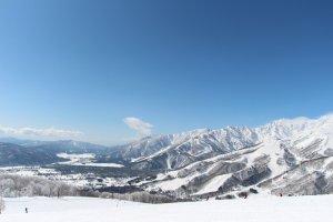 Hakuba - Blick ins Tal