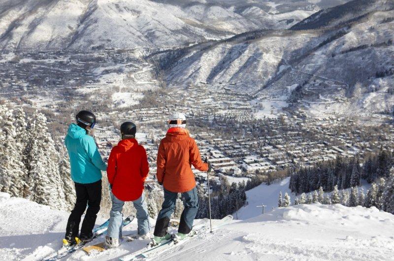 Aspen Mountain - Blick auf die Stadt