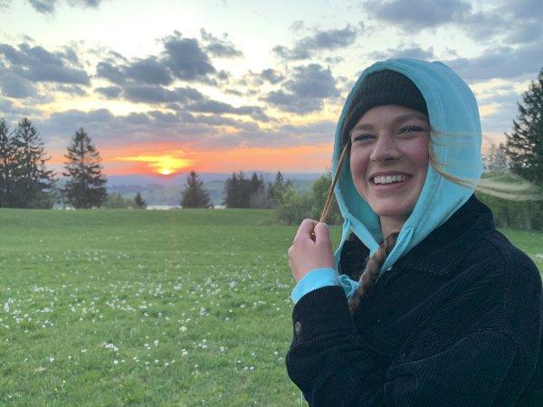 Juliana am Panoramaweg