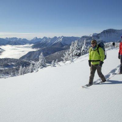 Schneeschuhtour in Banff