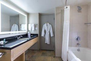 Hilton Room Bathroom