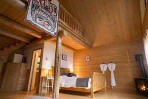 Tweedsmuir Park Lodge - Loft Chalet - Dano Pendygrasse