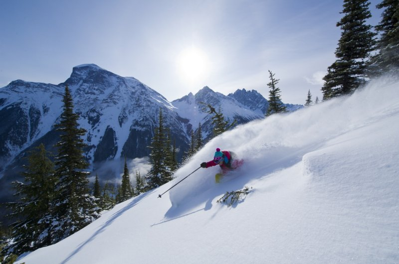 Skiing The Trees photo Eric Berger
