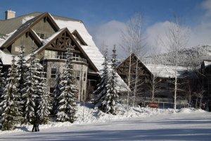 Aspens On Blackcomb Exterior Winter Season