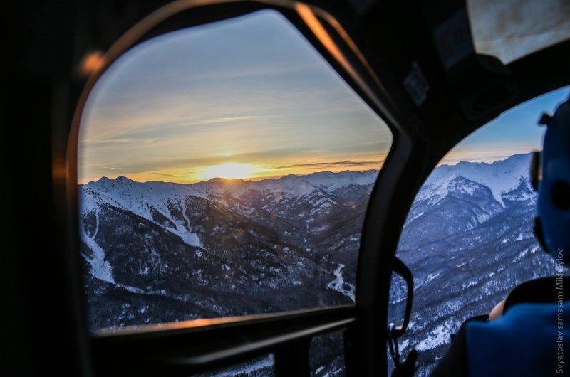 Heli-Skiing Baikalsee (Sibirien)