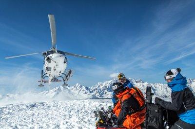 Heli-Skiing Italien