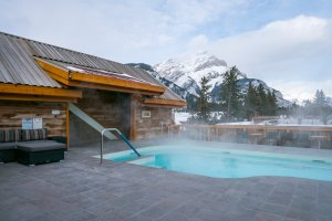 Moose Hotel und Suites - Poolbereich (Dach)